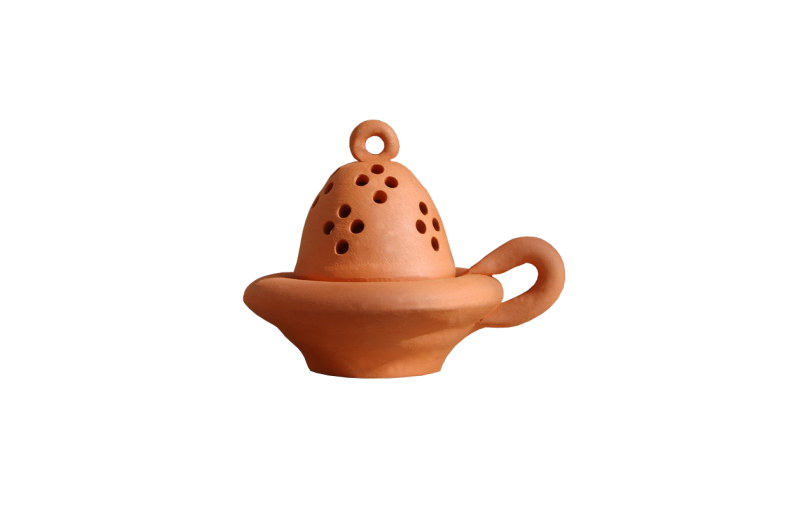 kadzielniczka ceramiczna gliniana terakotowa