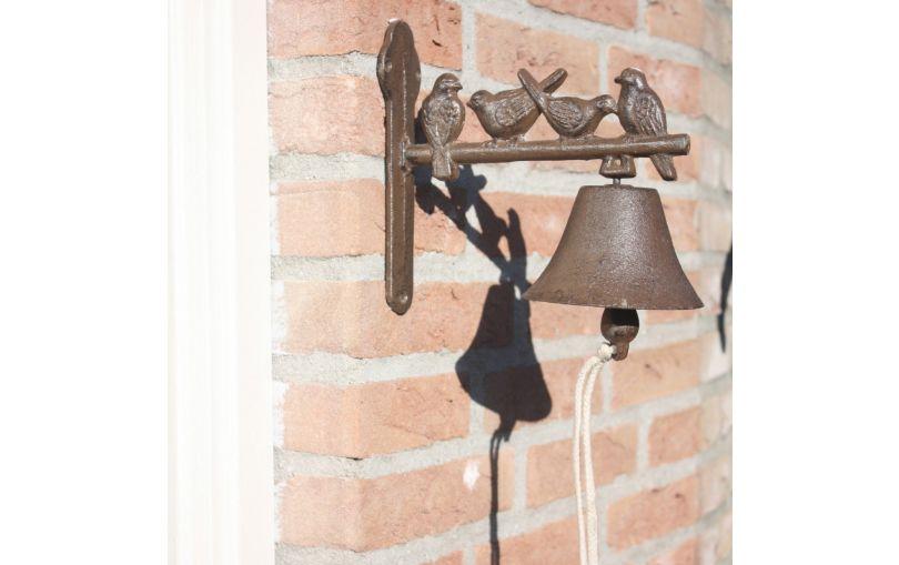 Dzwonek żeliwny ptaszki  Esschert design