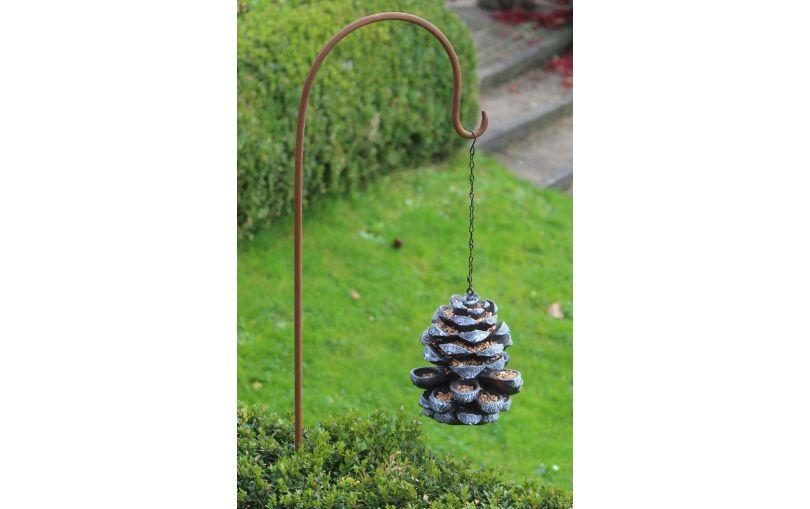 Karmnik dla ptaszków w kształcie szyszki Esschert design