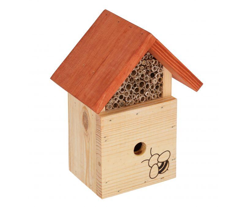 Domek dla owadów pożytecznych trzmiel 2w1